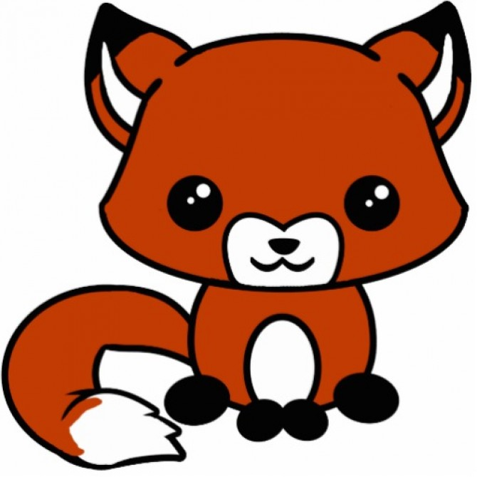 Cute Fox Mascot A And Adorable Orange He Looks Very Friendly
