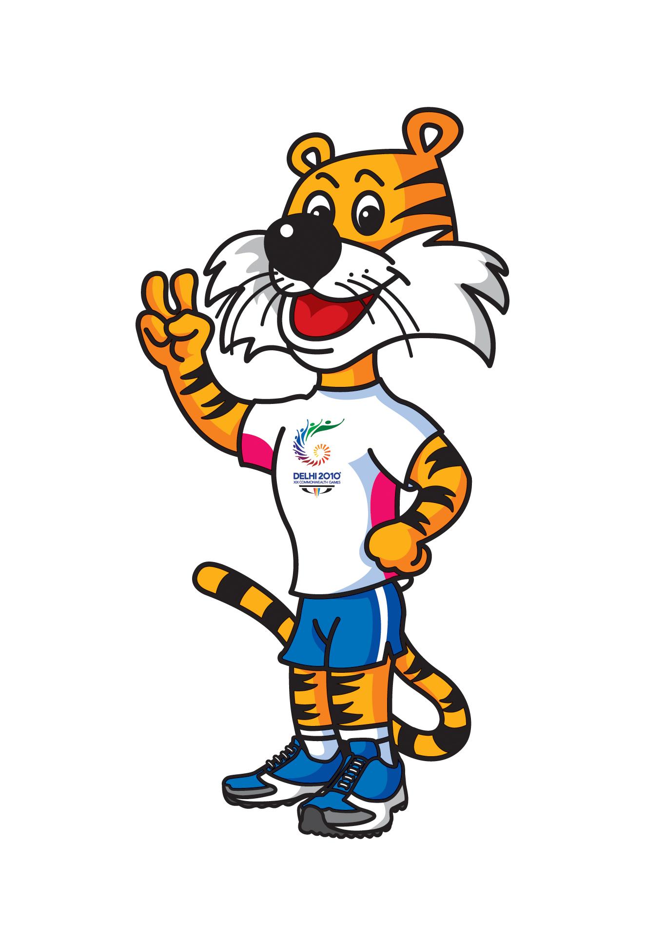 Sherar Tiger Mascot
