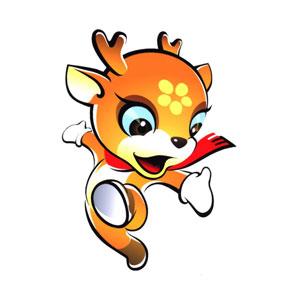 Raindeer Mascot