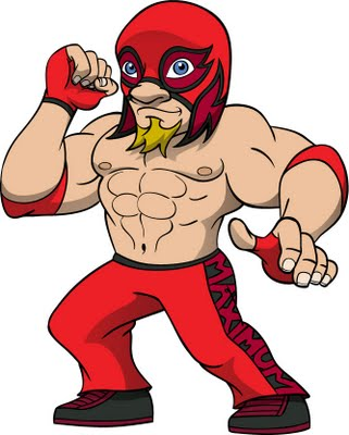 The Red Hot Wrestler
