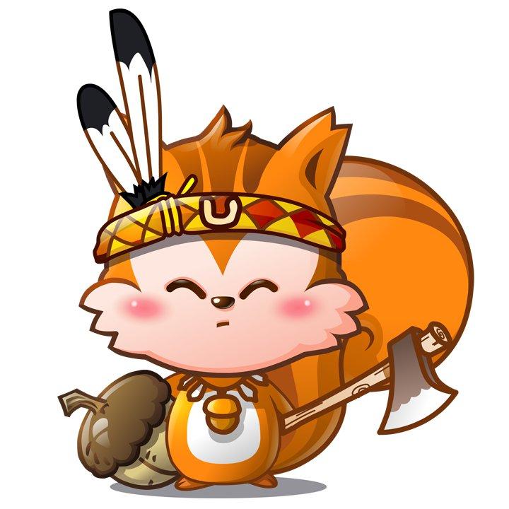 Indian Fox Mascot
