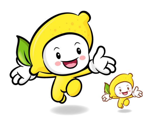 Lemon Mascot