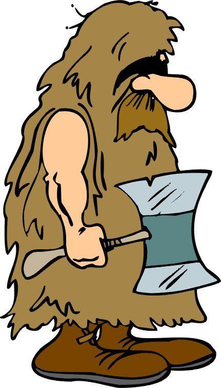 Caveman Mascot