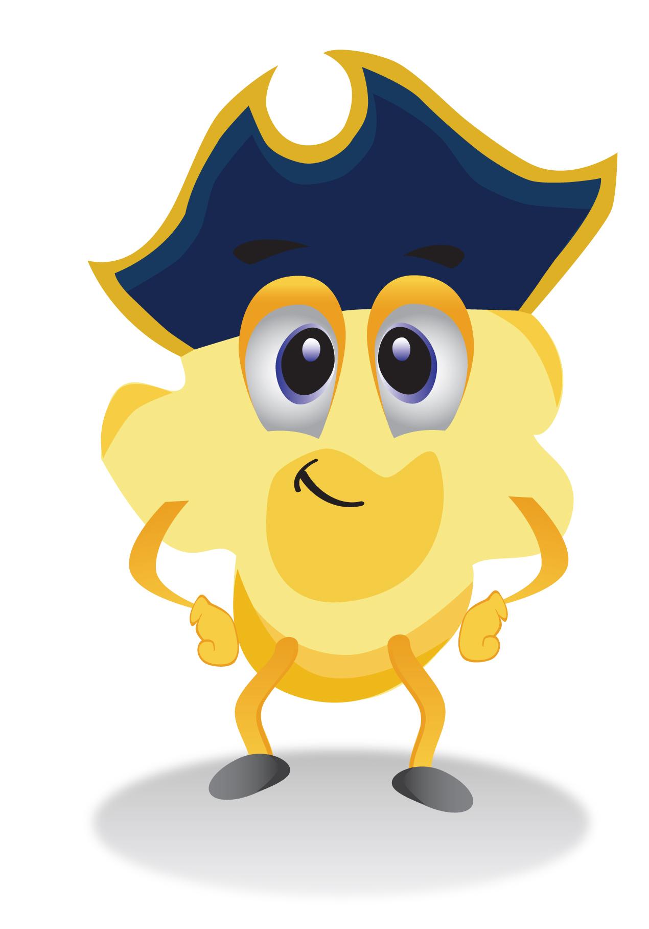 Pop Corn Mascot