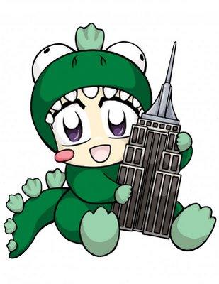 Anime Cosplay Mascot