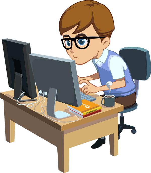 Programmer Mascot