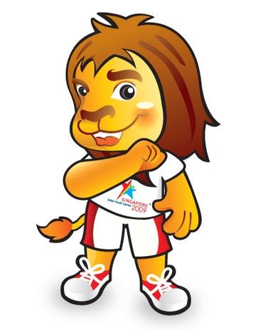 Singapore Lion Mascot