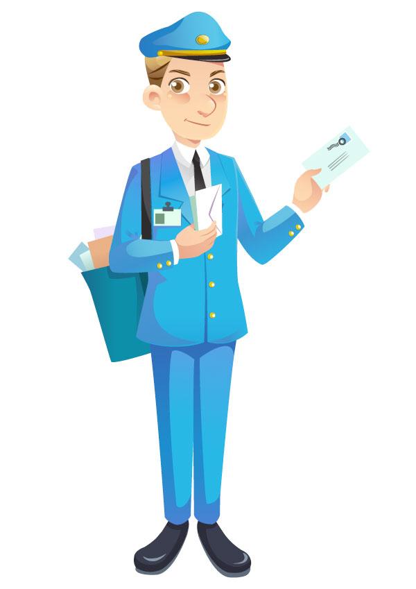 Mailman Mascot