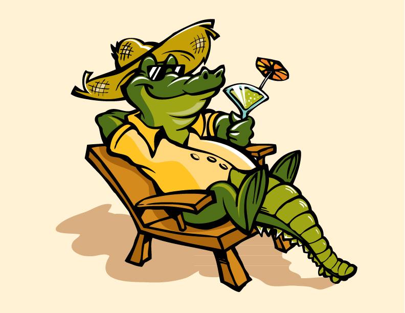 Alligator Mascot