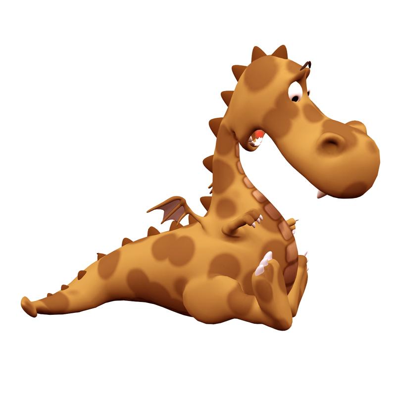3D Dragon Mascot