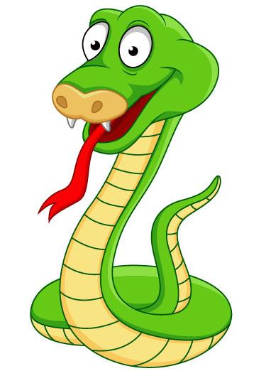 Green Snake Mascot