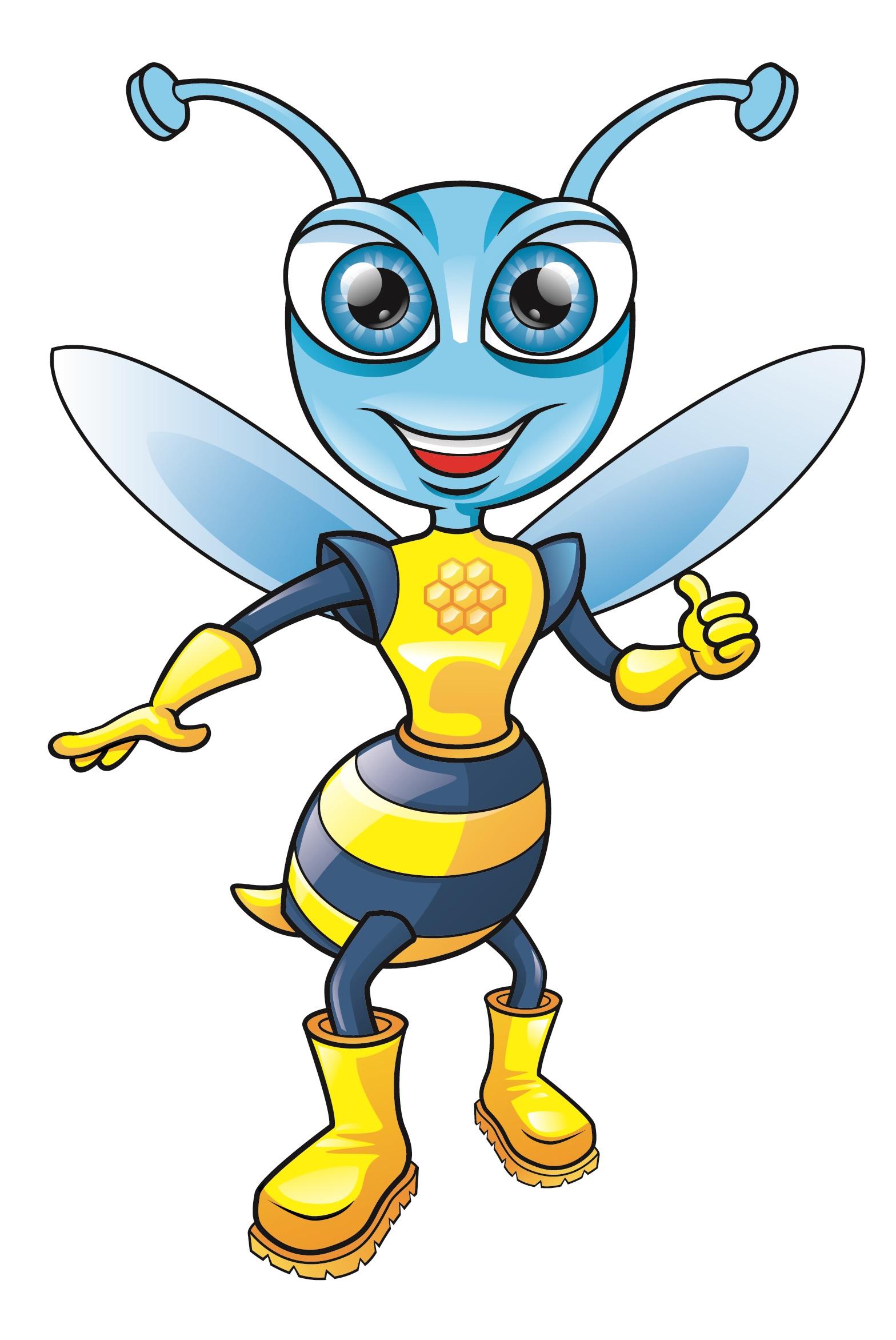 Super Bee Mascot