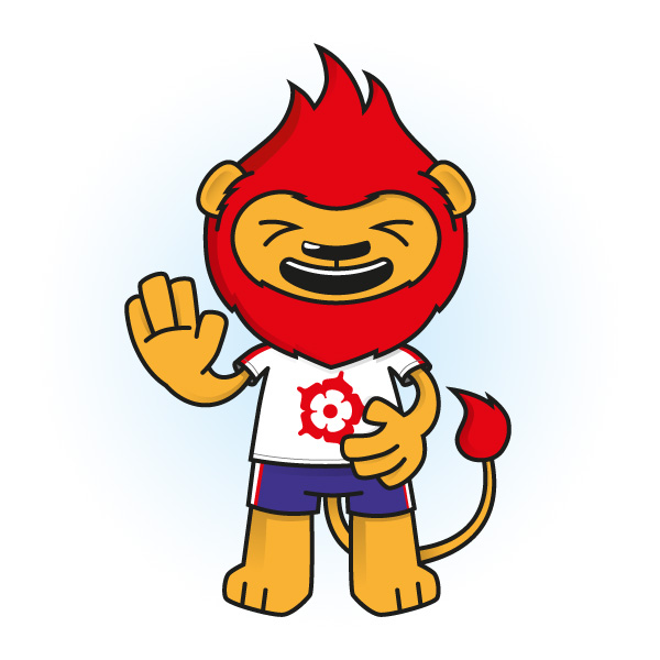 Leroy the Lion Mascot