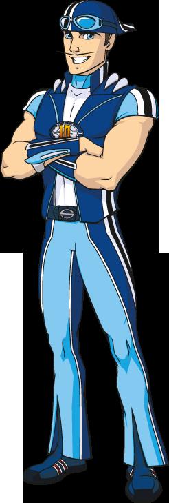 Sporty Guy Mascot