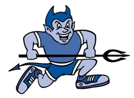 Blue Devil Mascot