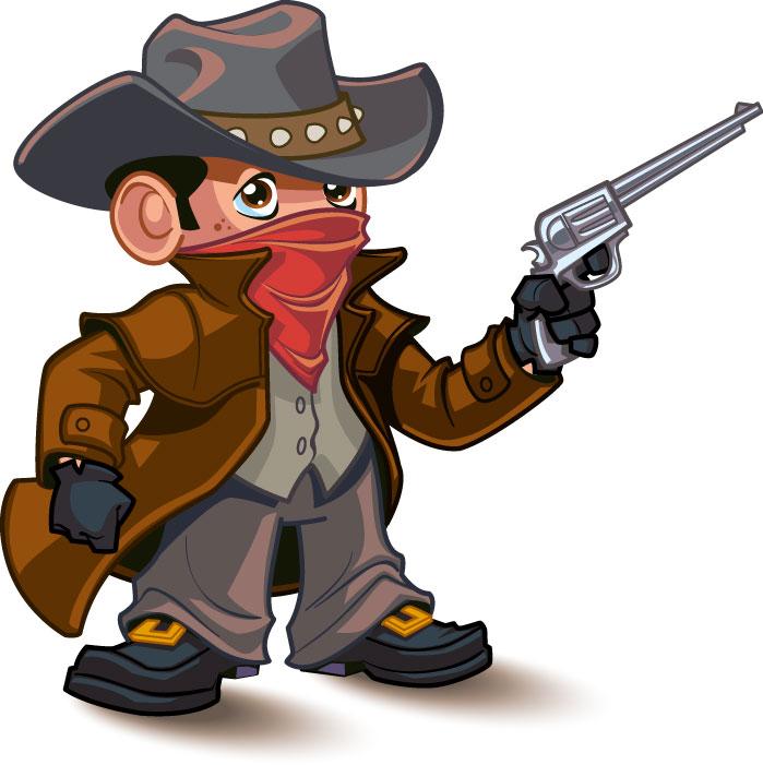 Little Cowboy Mascot