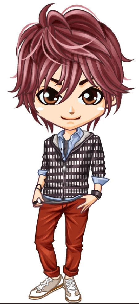Japanese Teen Mascot