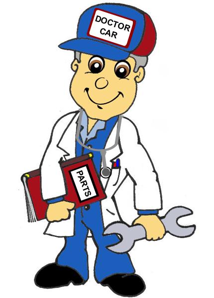 Car Doctor Mascot