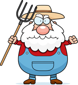 Old Farmer Mascot
