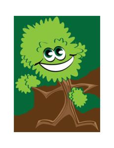 Dancing Bush Mascot