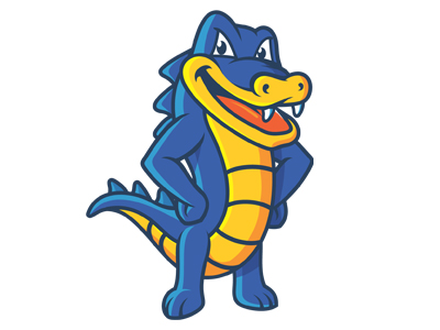 Host Gator Mascot