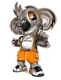 Cool Koala Mascot