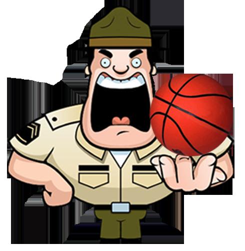 Officer Baller Mascot