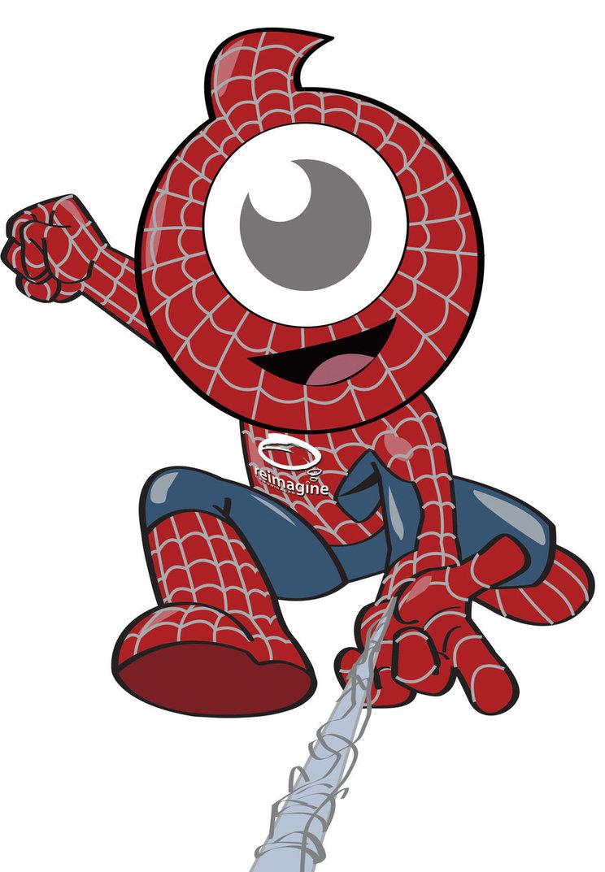 Spider Mascot