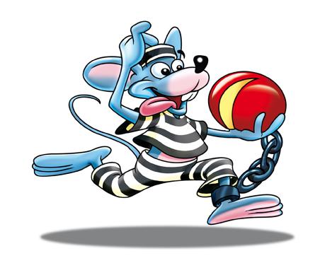 Prisoner Mouse Mascot