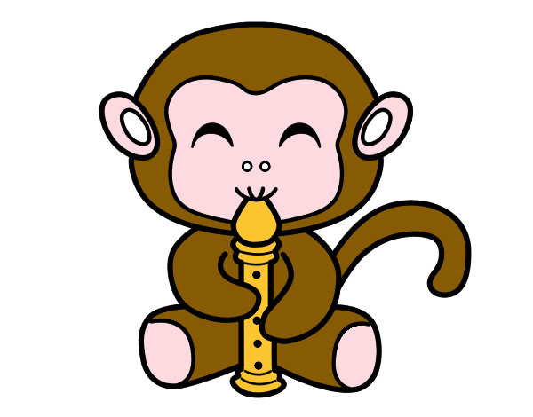 Baby Monkey Mascot