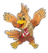 Scout Eagle Mascot