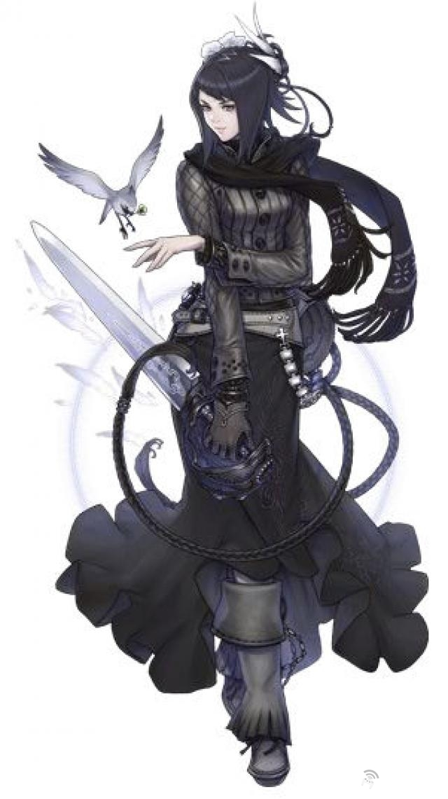 Epic Female Fantasy Character Mascot