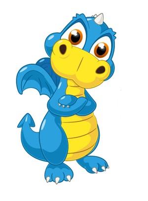 Cute Dragon Mascot