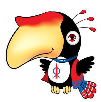 Hornbill Mascot