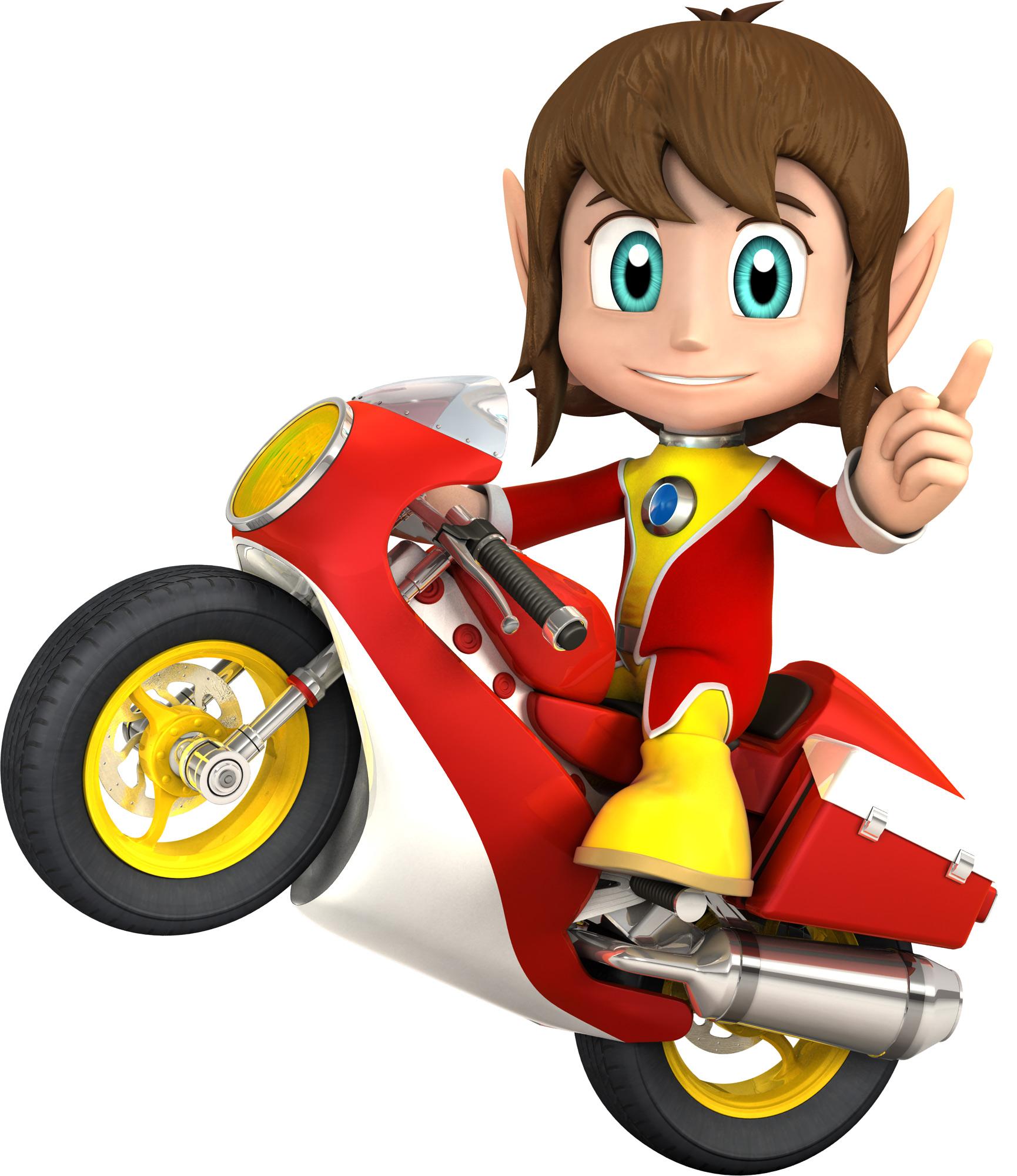 Motorcycle Kid Mascots