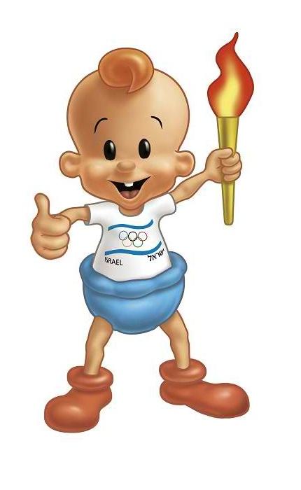 Olympic Baby Mascot