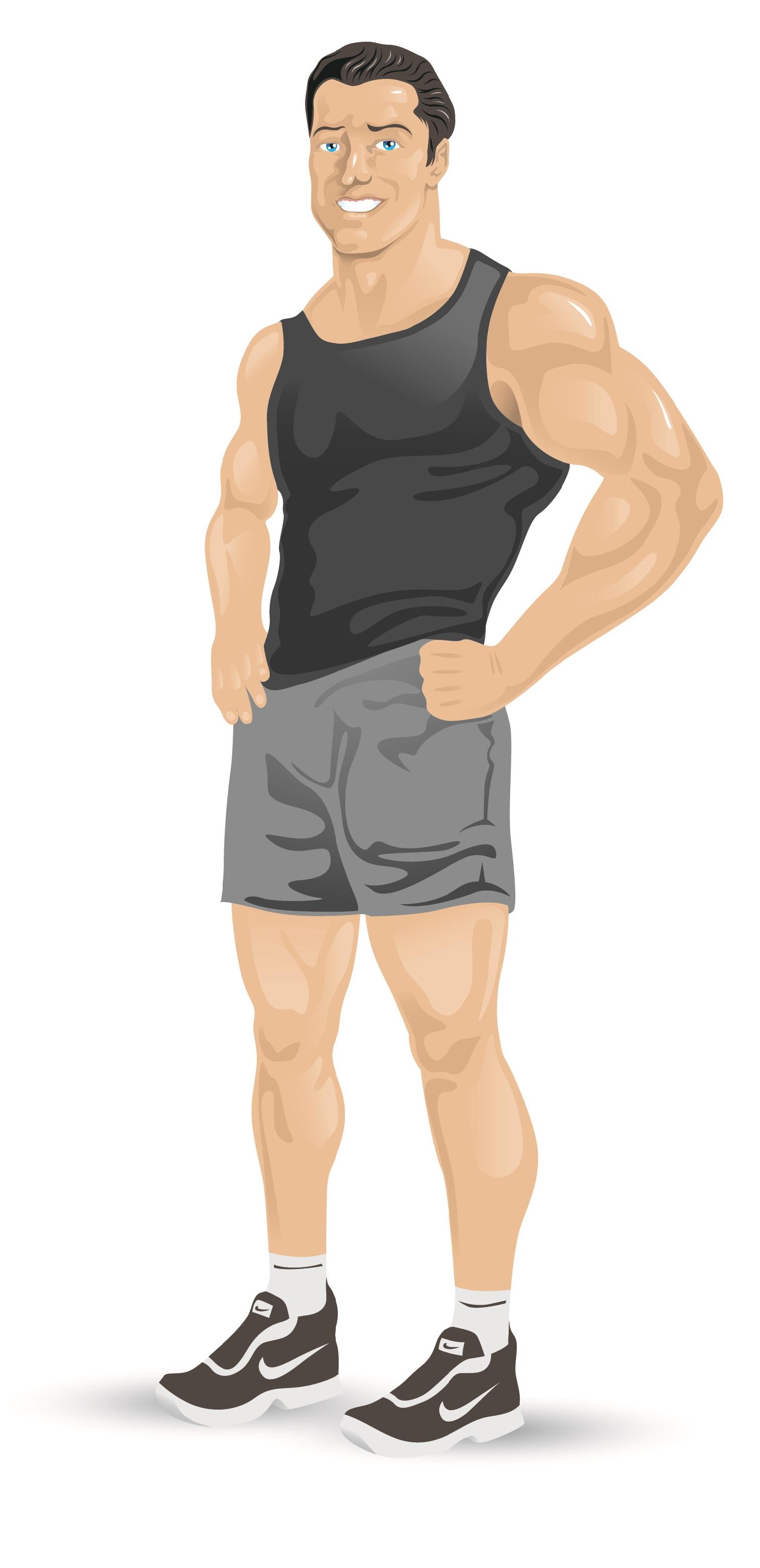 Fitness Trainer Mascot