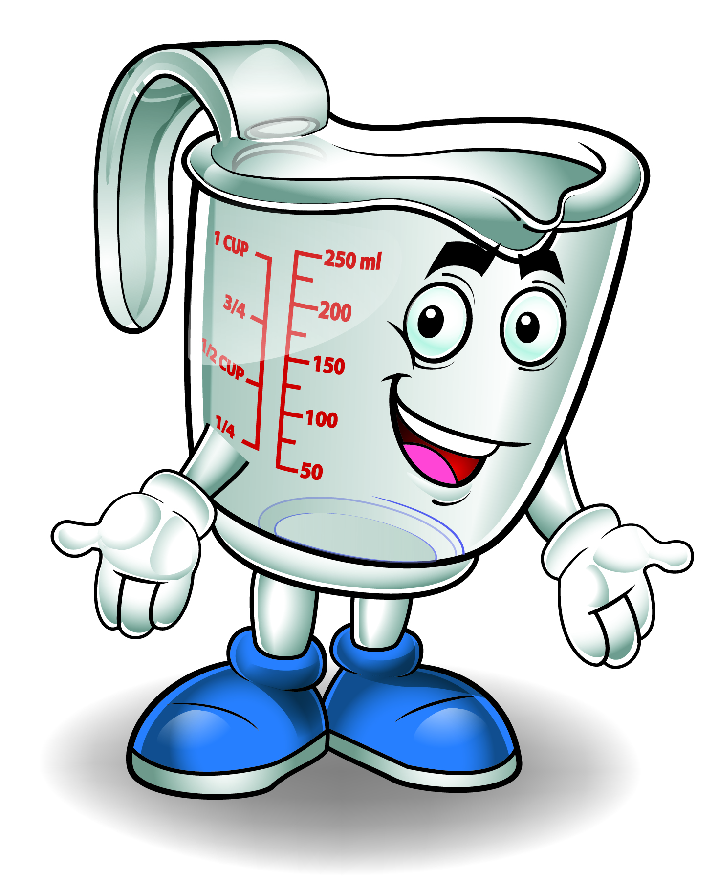 Measuring Cup Mascot