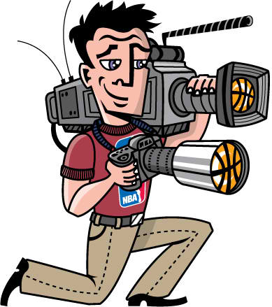 Camera Man Mascot