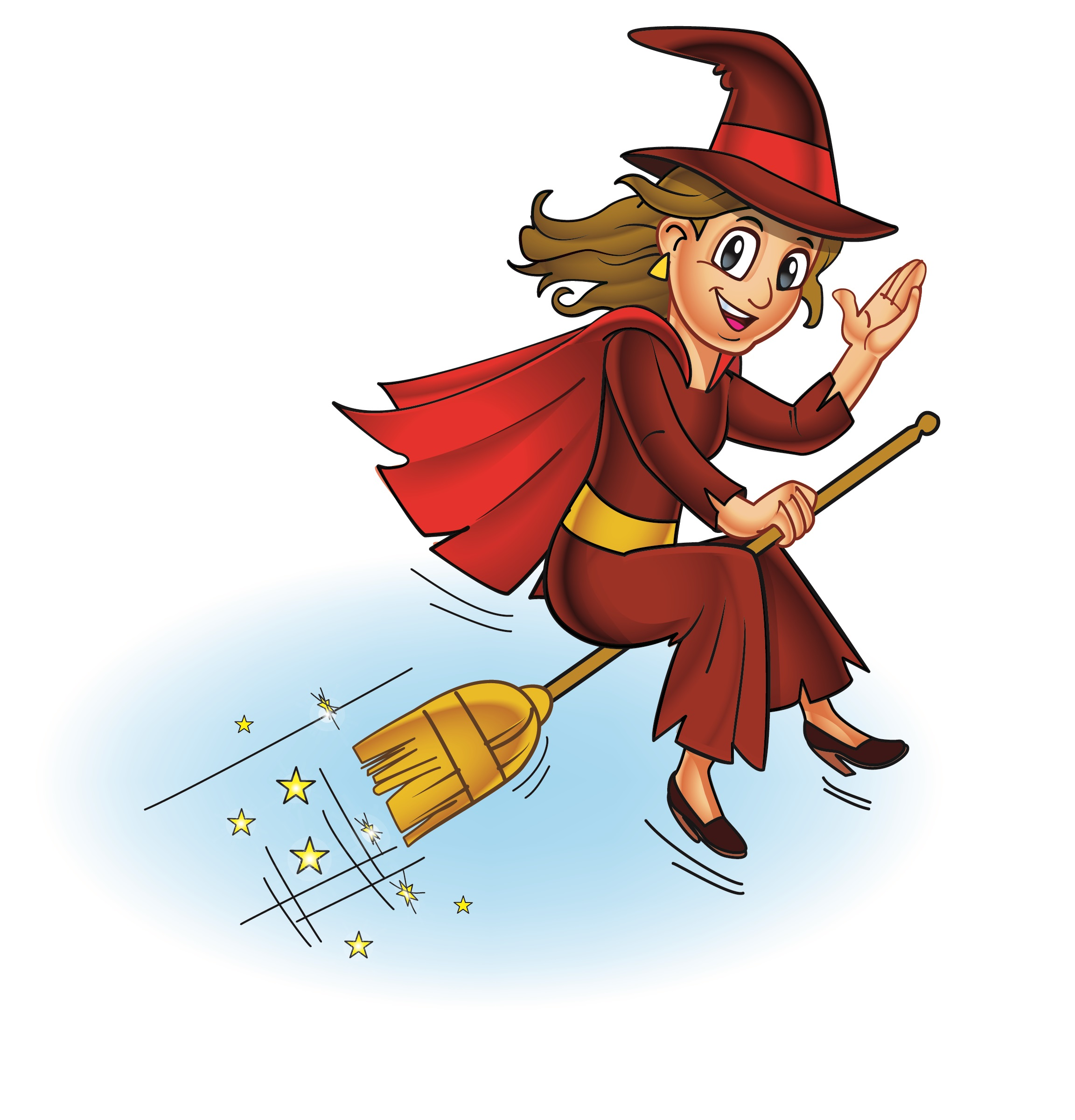 Good Witch Mascot