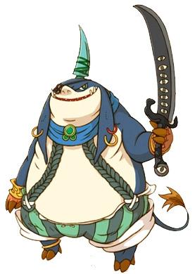 Bandit Fantasy Character Mascot