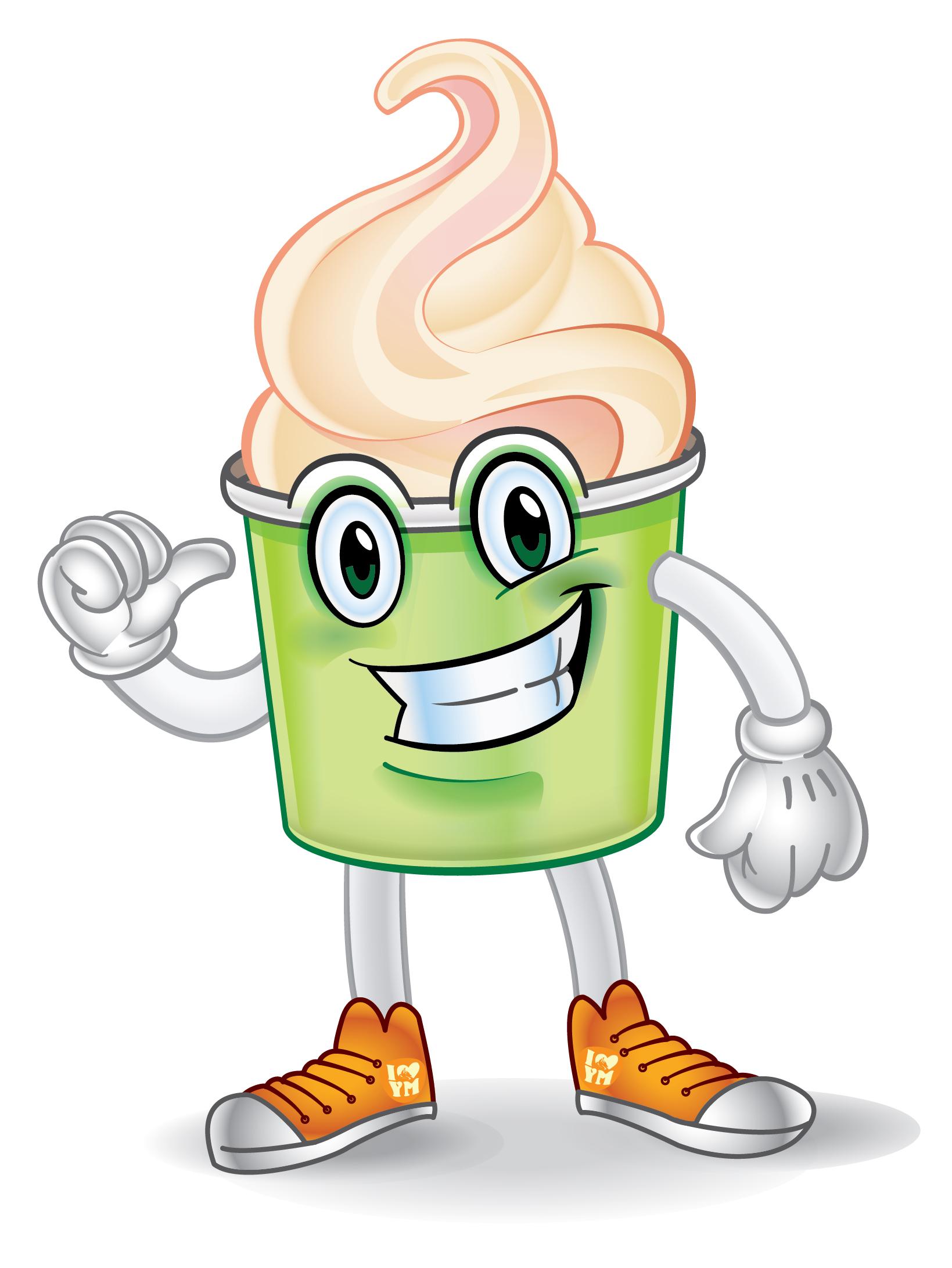 Yogurt Mascot