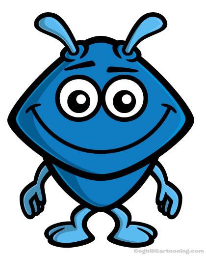 Cute Bug Mascot