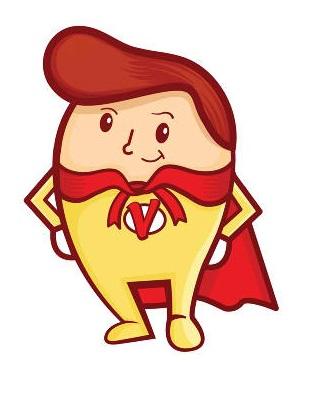 Super Vitamins Mascot
