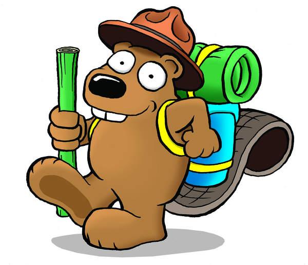 Ranger Beaver Mascot