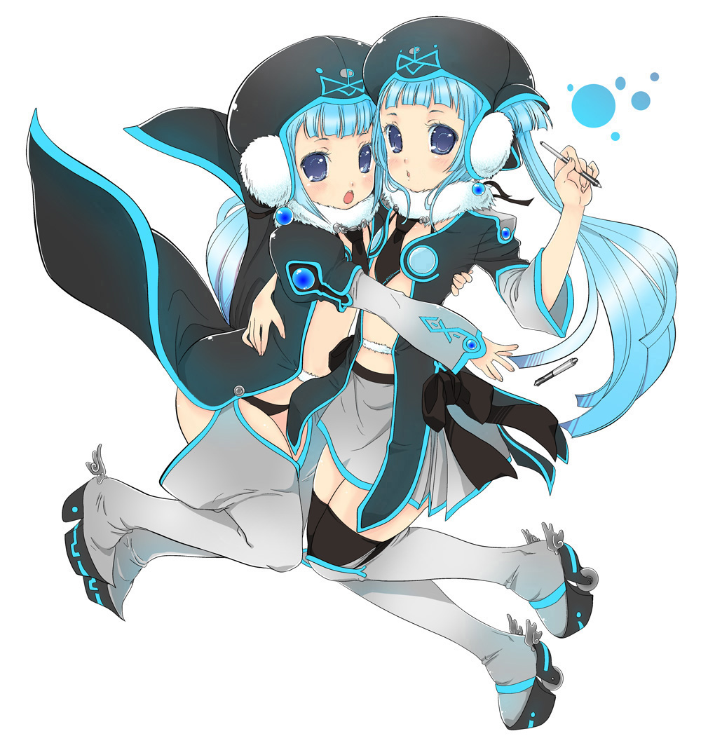 Twin Vocaloid Mascot
