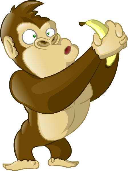 Curious Gorilla Mascot