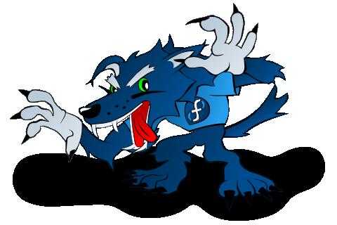 Mad Wolf Mascot