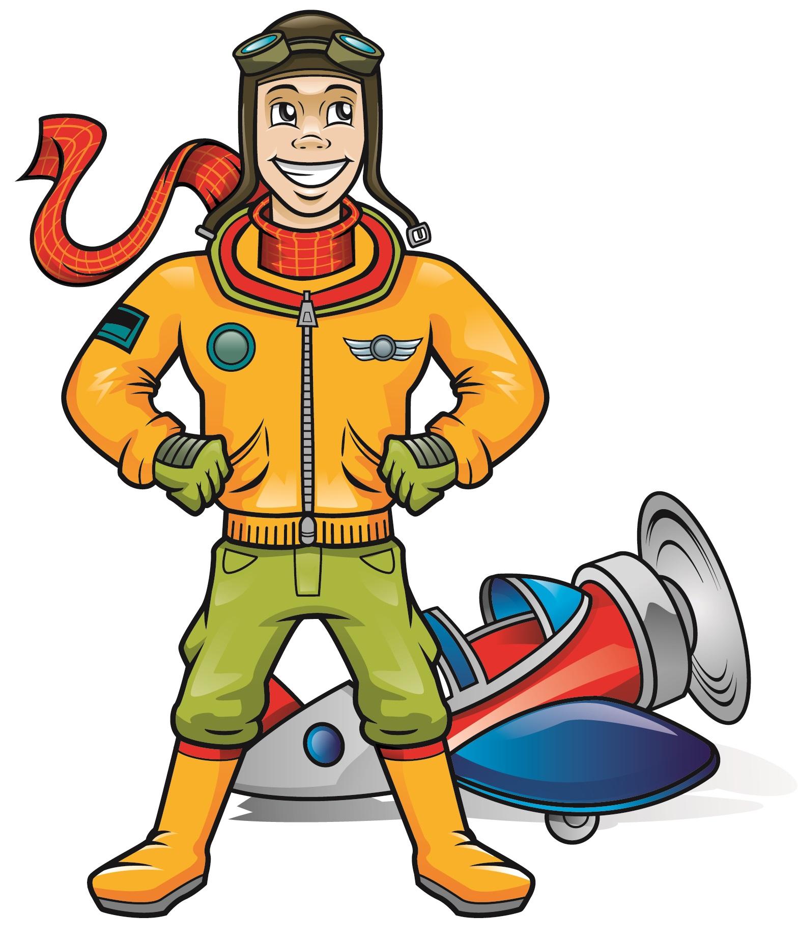 Pilot Mascot
