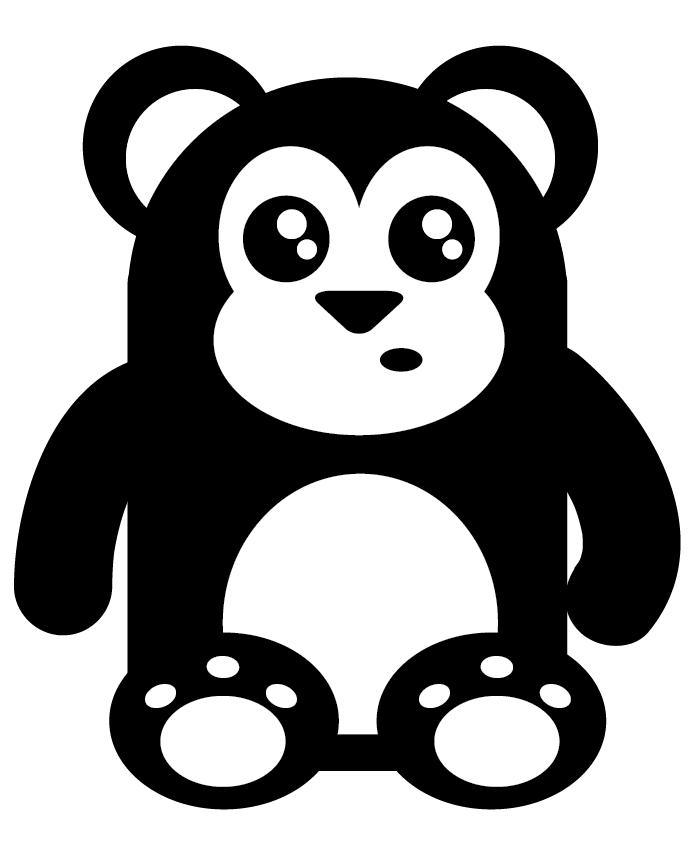 Black Bear Mascot